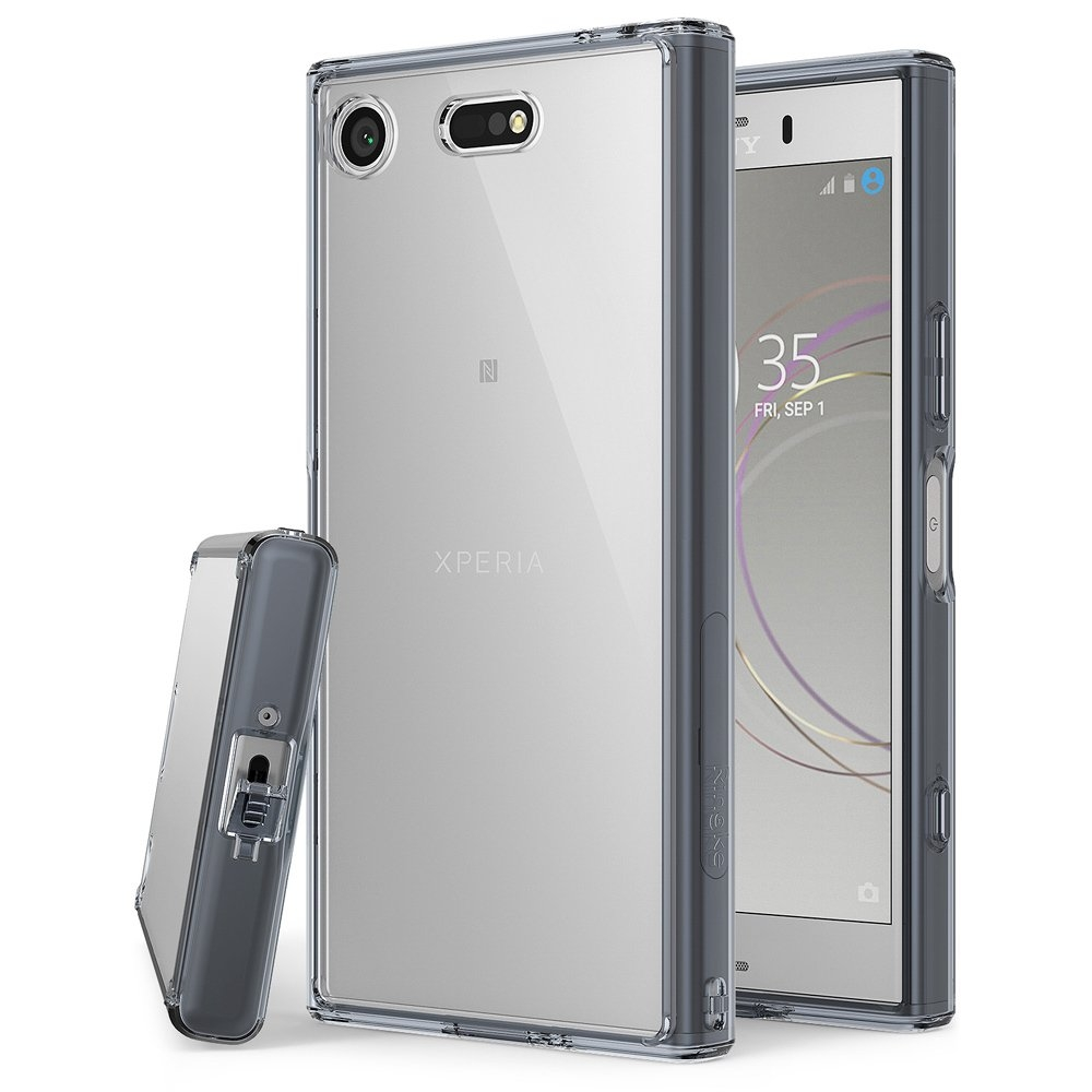 RINGKE FUSION Sony Xperia XZ1 Compact šedý