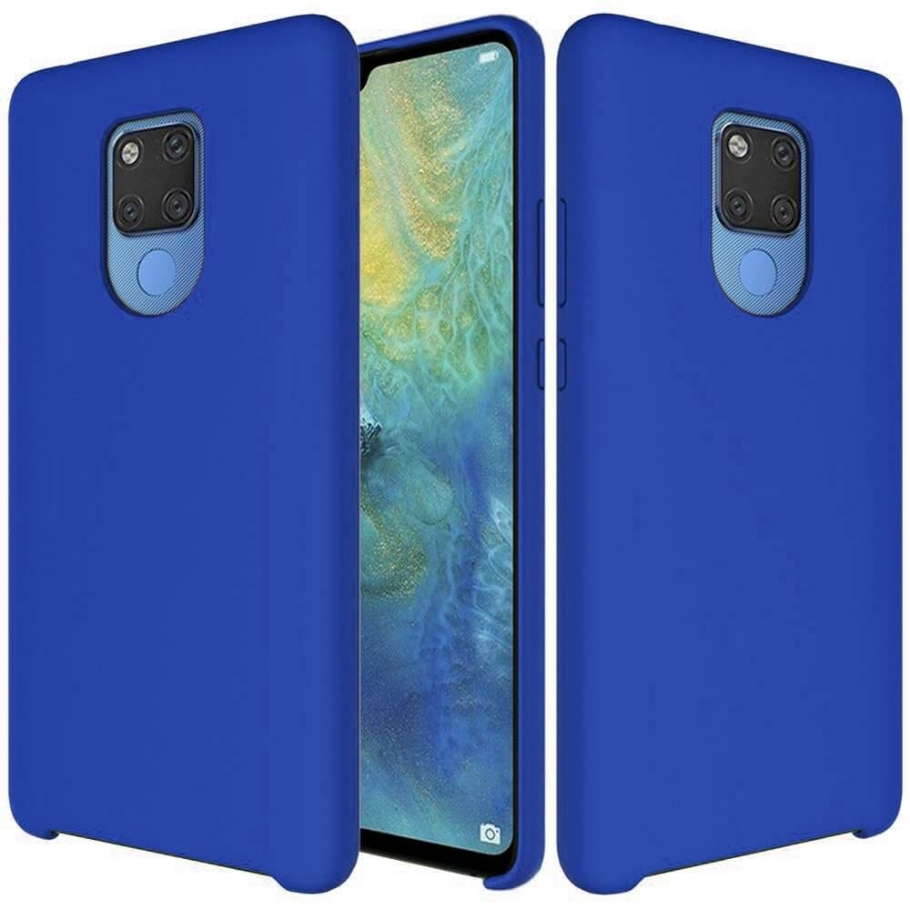 FORCELL RUBBER Silikonový obal Huawei Mate 20 modrý