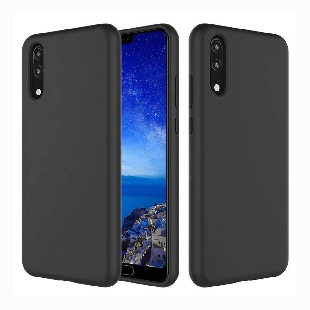 FORCELL RUBBER Pryžový kryt Huawei P20 černý