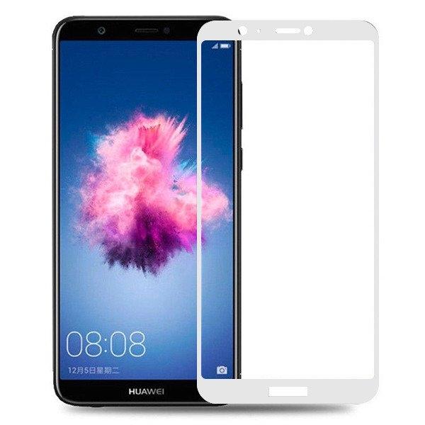 FORCELL 3D Tvrzené sklo Huawei P Smart bílé