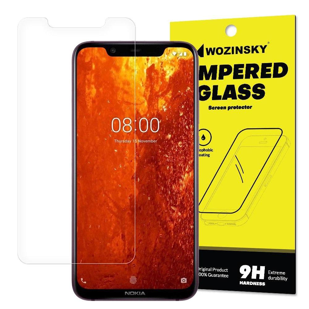 FORCELL Ochranné tvrzené (temperované) sklo Nokia 8.1