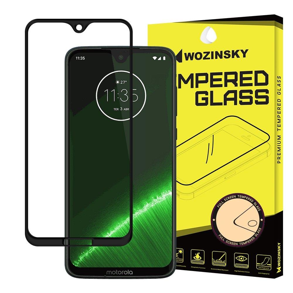 FORCELL 3D Tvrzené sklo Motorola Moto G7 černé