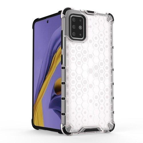 FORCELL HONEYCOMB Ochranný kryt Samsung Galaxy S20 Plus priehľadný