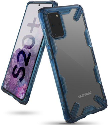 RINGKE FUSION Obal Samsung Galaxy S20 Plus modrý