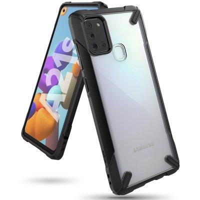 RINGKE FUSION X Samsung Galaxy A21s černý