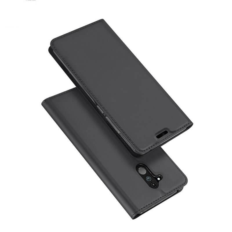 DUX Knížkové pouzdro Huawei Mate 20 Lite šedé