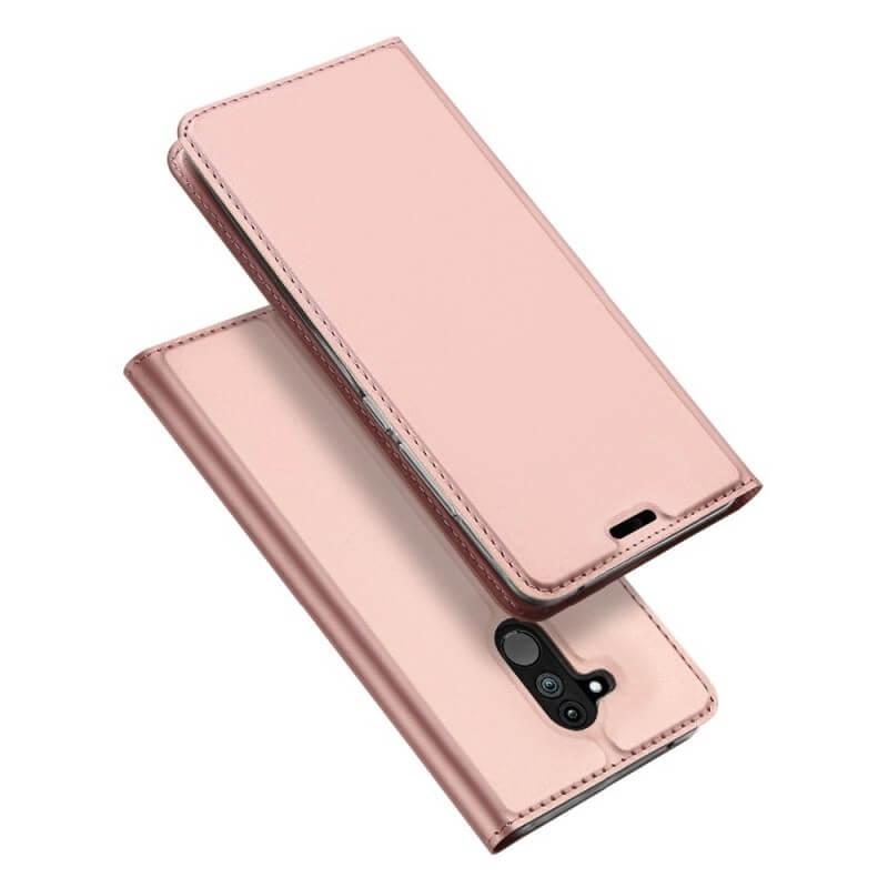 DUX Knížkové pouzdro Huawei Mate 20 Lite růžové