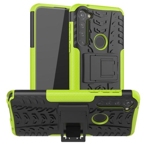 Levně FORCELL STAND Extra odolný obal Motorola Moto G Stylus zelený