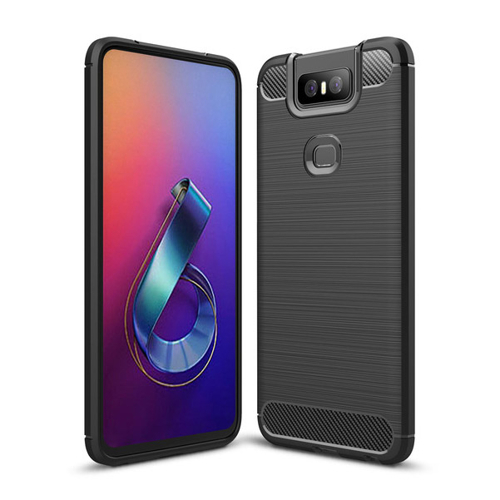 FORCELL FLEXI TPU Obal Asus Zenfone 6 ZS630KL čierny