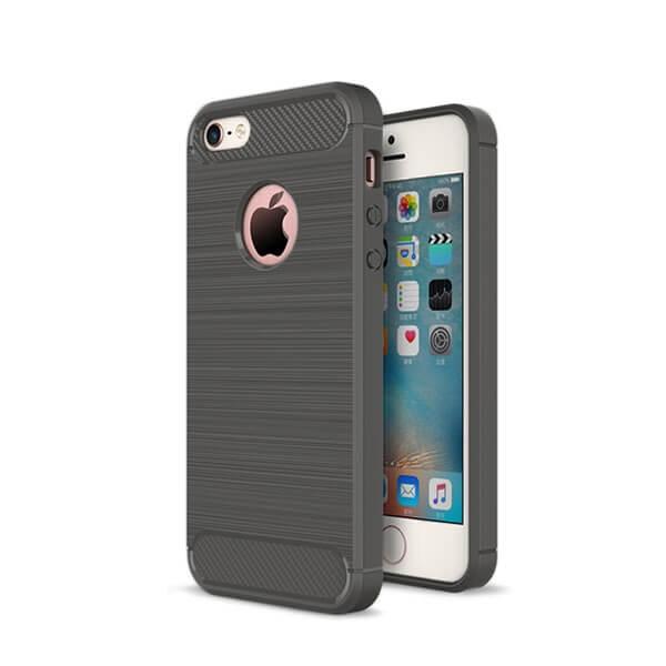 FORCELL FLEXI TPU obal Apple Iphone 5 / 5S / SE šedý