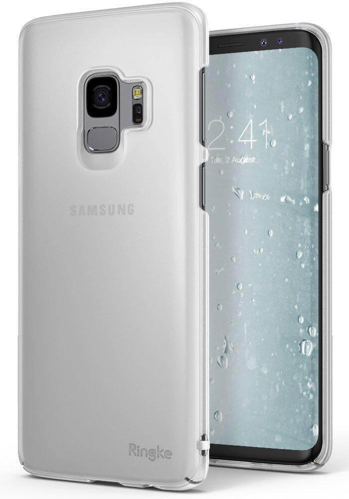 RINGKE SLIM FROSTED Samsung Galaxy S9 průhledný