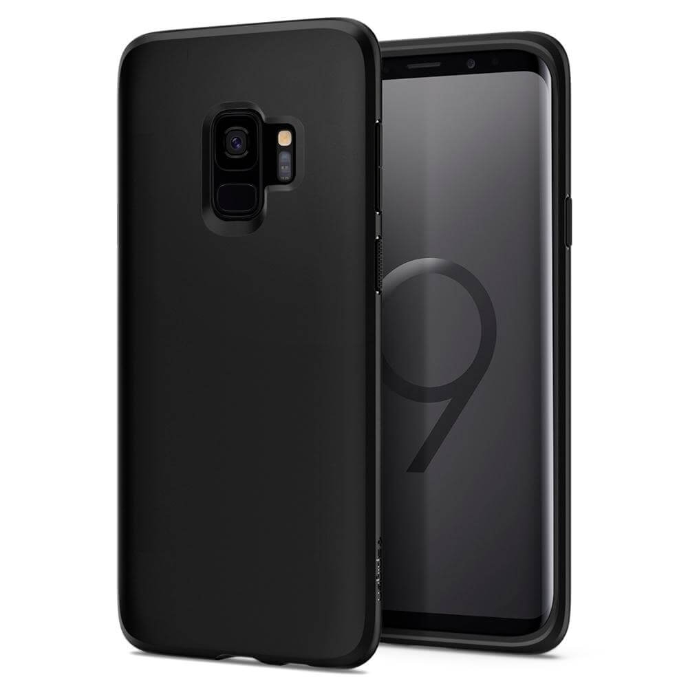 SPIGEN LIQUID CRYSTAL Samsung Galaxy S9 Matte black