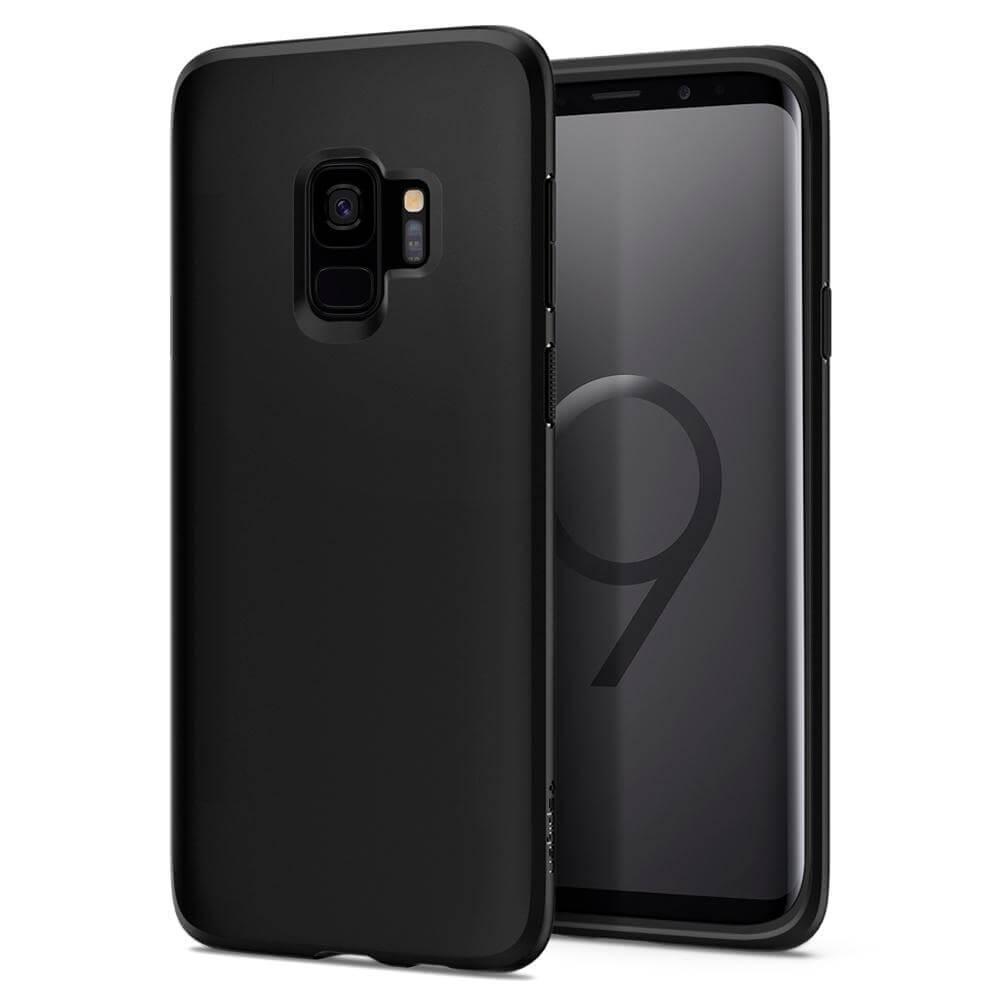 SPIGEN LIQUID CRYSTAL Samsung Galaxy S9 Plus Matte black