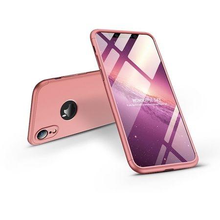 FORCELL 360° ochranný obal Apple iPhone XR růžový