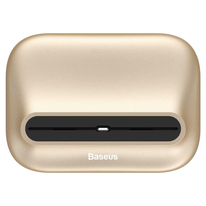 BASEUS NORTHERN Dokovací stanice (iPhone) zlatá