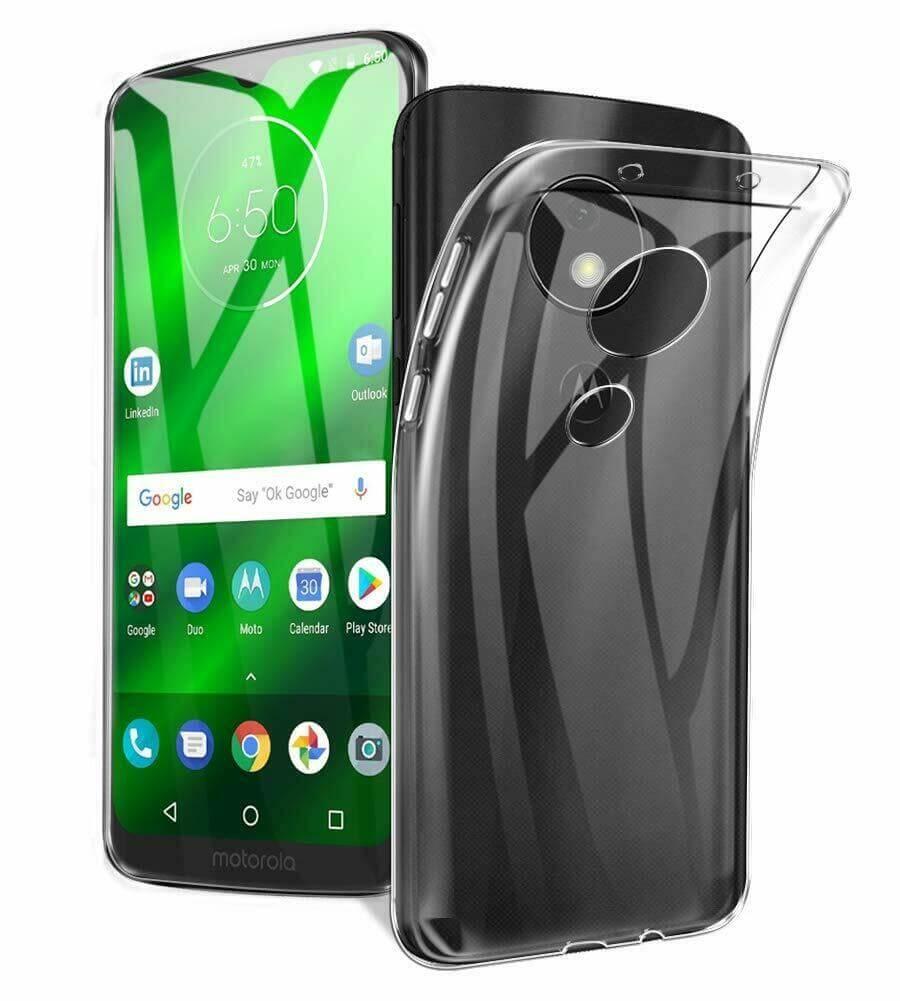 FORCELL Silikonový průhledný obal Motorola Moto G7