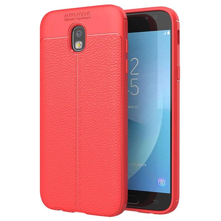FORCELL PATTERN TPU kryt Samsung Galaxy J5 2017 (J530) červený