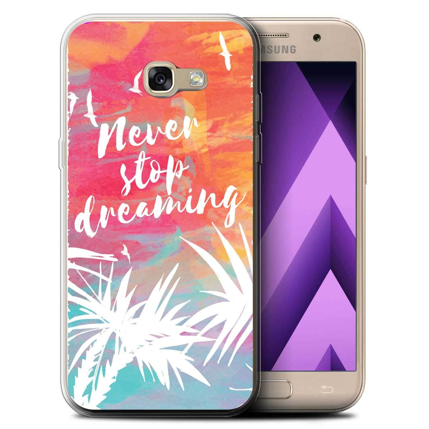 FORCELL MY ART kryt Samsung Galaxy A3 2017 (A320) NEVER STOP DREAMING (028)