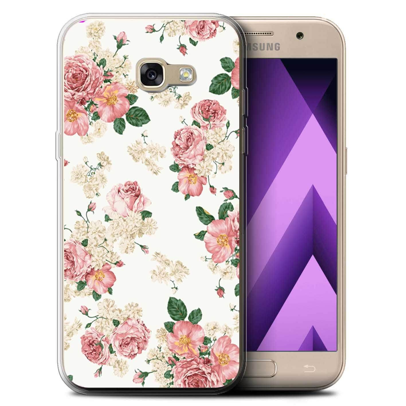 FORCELL MY ART kryt Samsung Galaxy A3 2017 (A320) PINK ROSES (016)