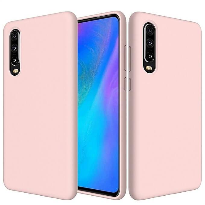FORCELL RUBBER Silikonový obal Huawei P30 růžový