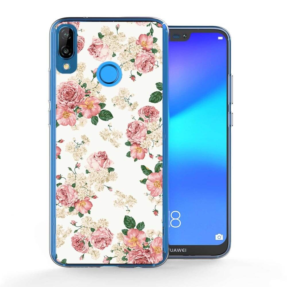 FORCELL MY ART obal Huawei P20 Lite PINK ROSES (016)
