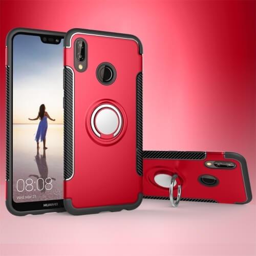 FORCELL HOLD Ochranný kryt Huawei P20 Lite červený