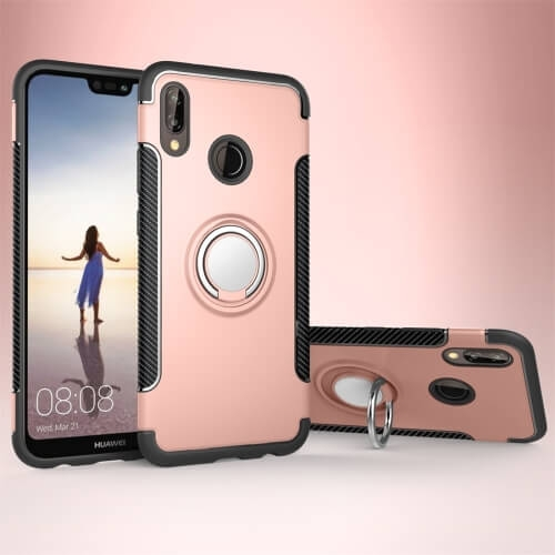 FORCELL HOLD Ochranný kryt Huawei P20 Lite růžový