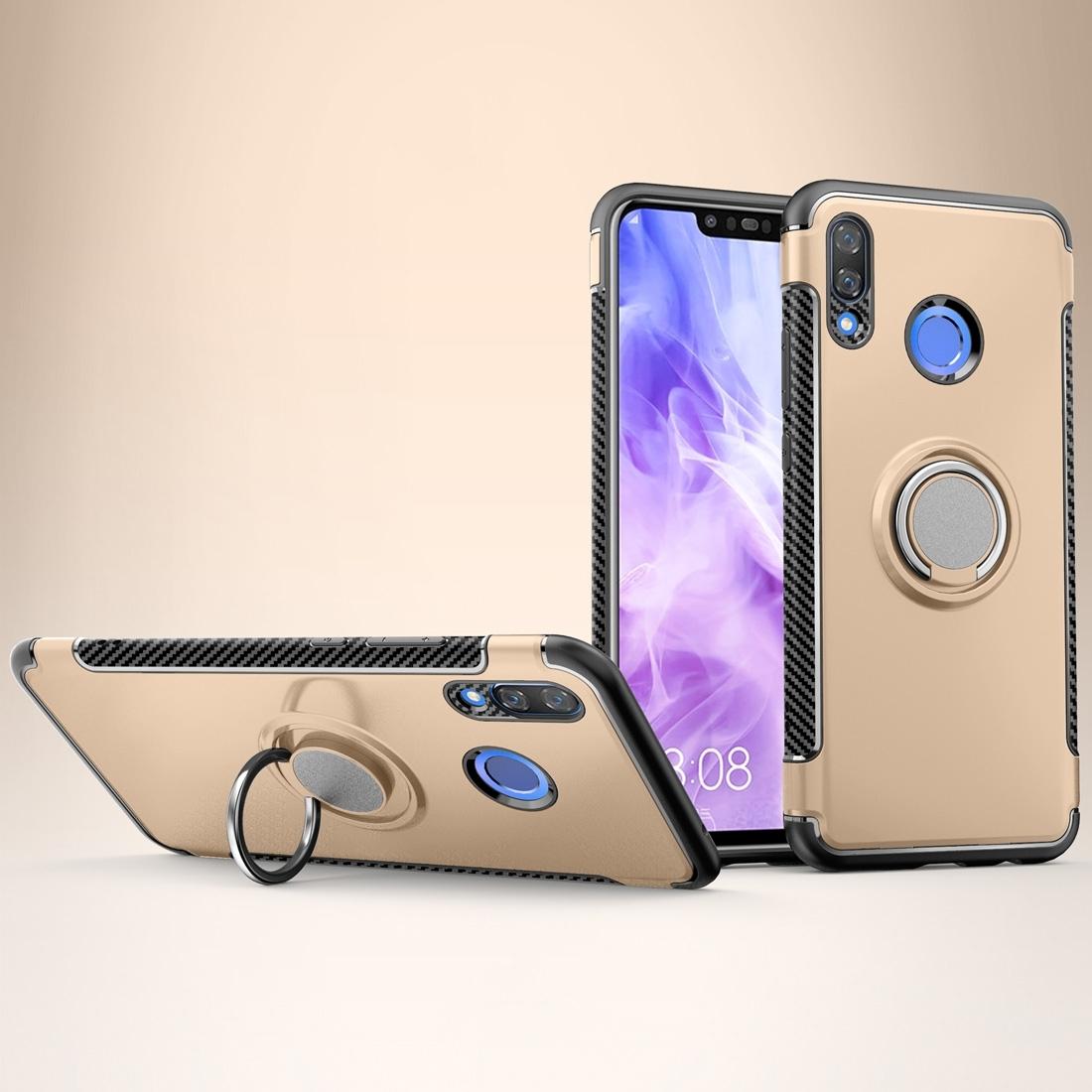 FORCELL HOLD Ochranný kryt Huawei Nova 3 zlatý