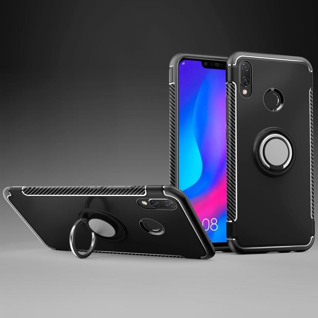 FORCELL HOLD Ochranný kryt Huawei Nova 3i černý