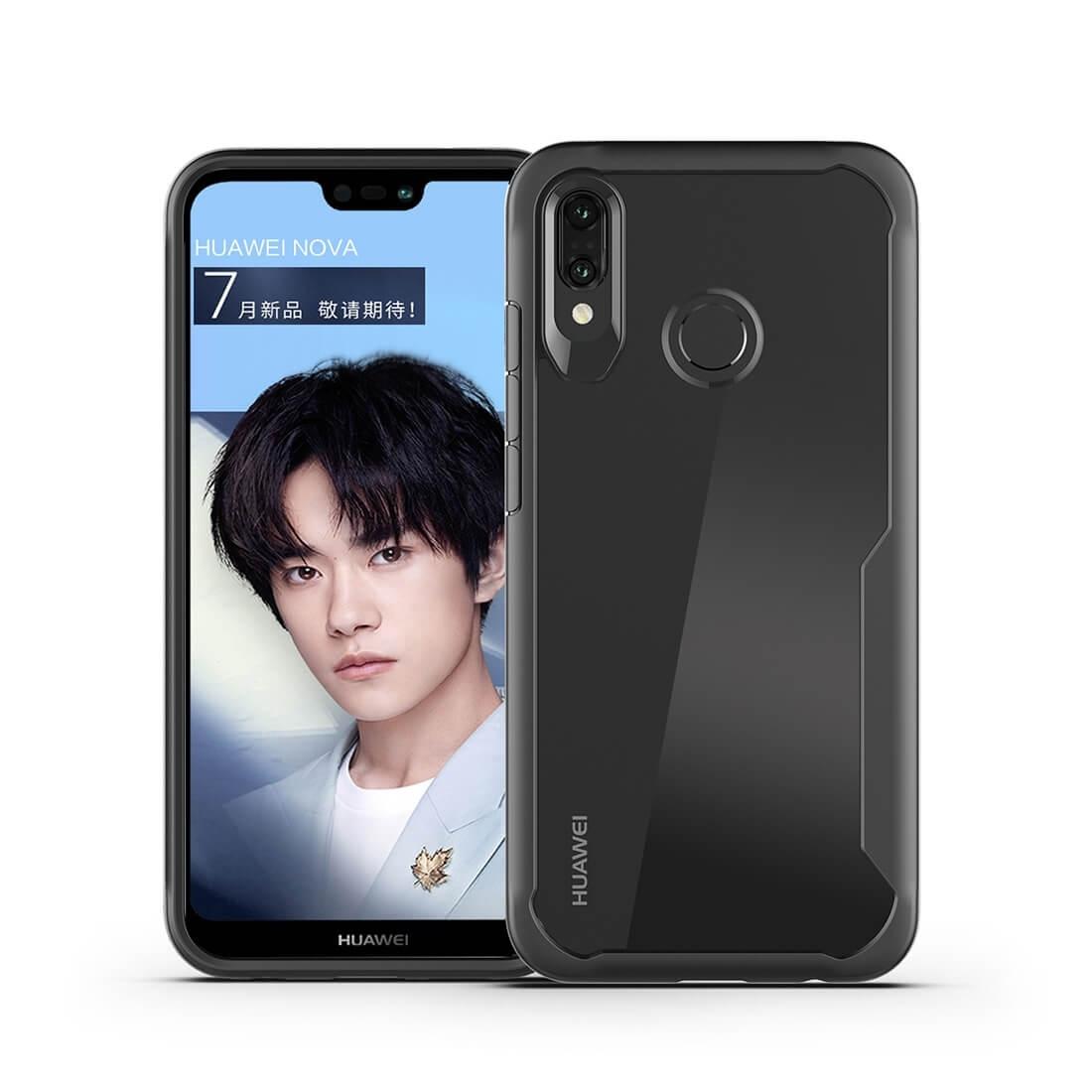 FORCELL FRAME Ochranný kryt Huawei Nova 3 černý