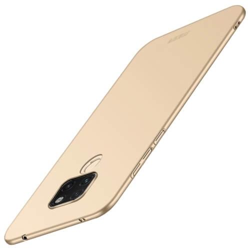 Levně MOFI Ultratenký obal Huawei Mate 20 zlatý
