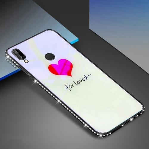 FORCELL ART GLASS Ochranný kryt Huawei P20 Lite HEART