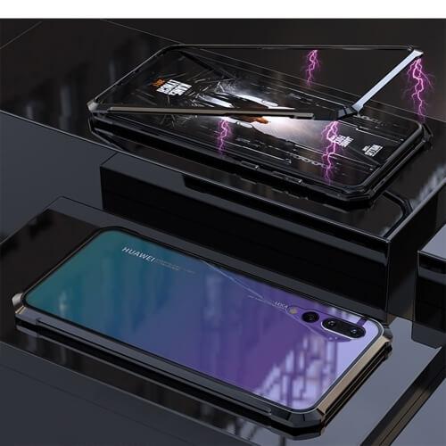 FORCELL Ochranný magnetický obal Huawei P20 Pro černý