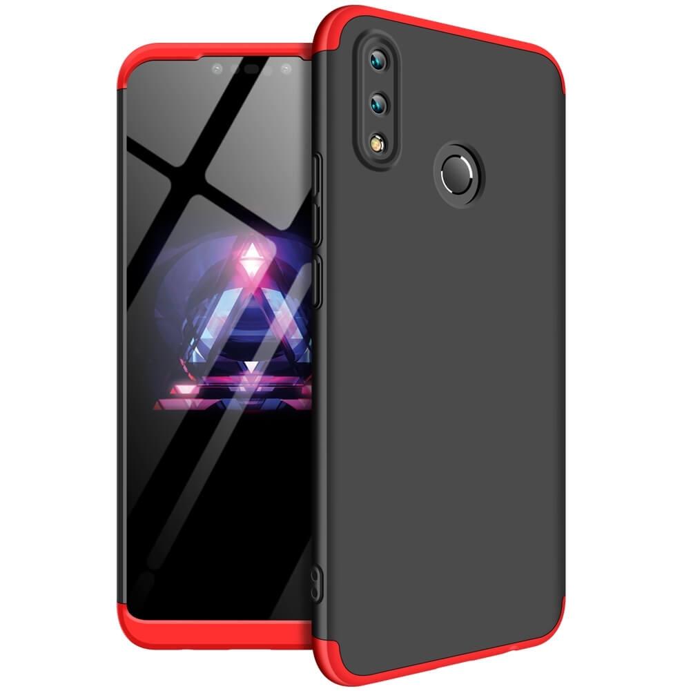 FORCELL 360 ° Ochranný obal Huawei Nova 3i černý (červený)