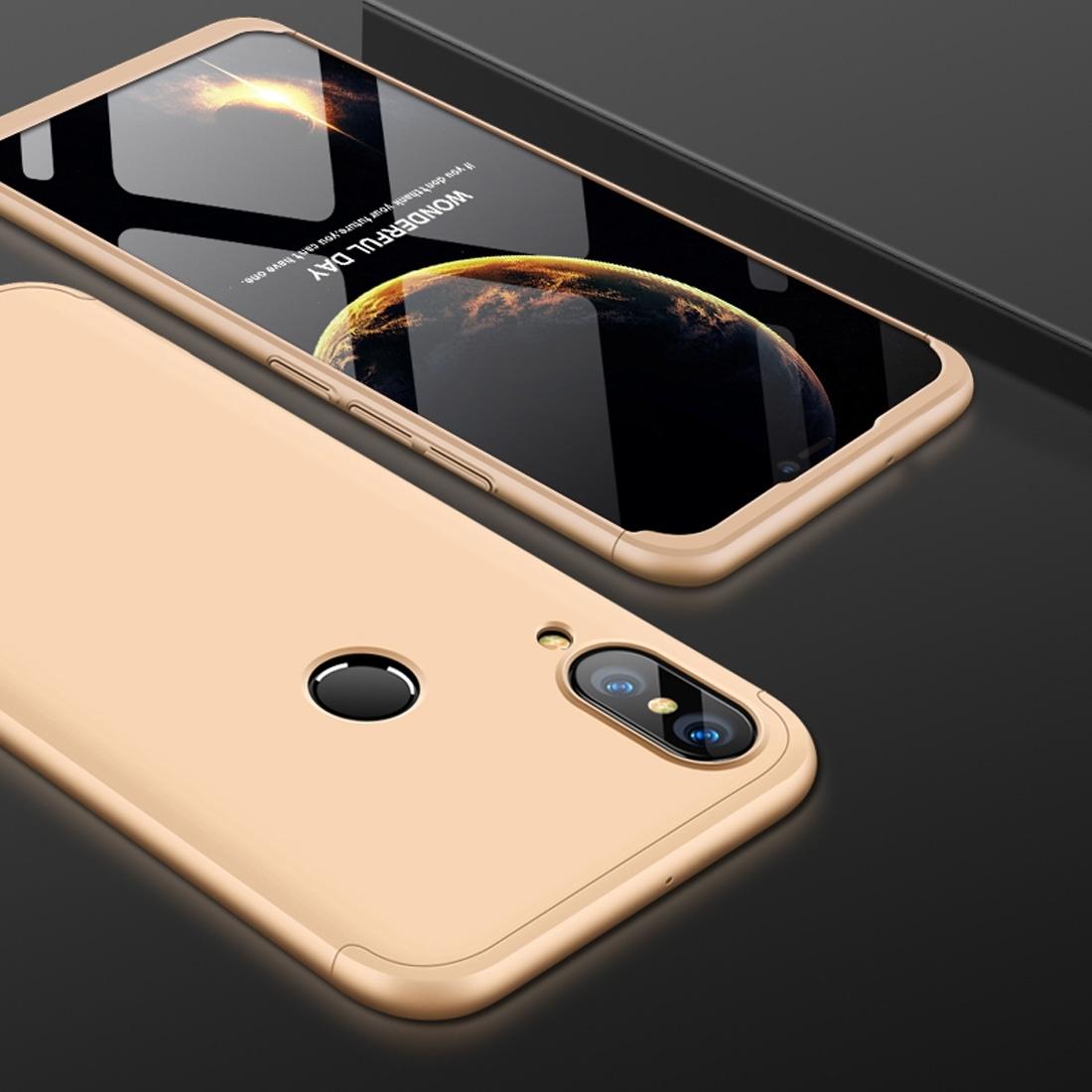 FORCELL 360 ° Ochranný obal Huawei Nova 3 zlatý