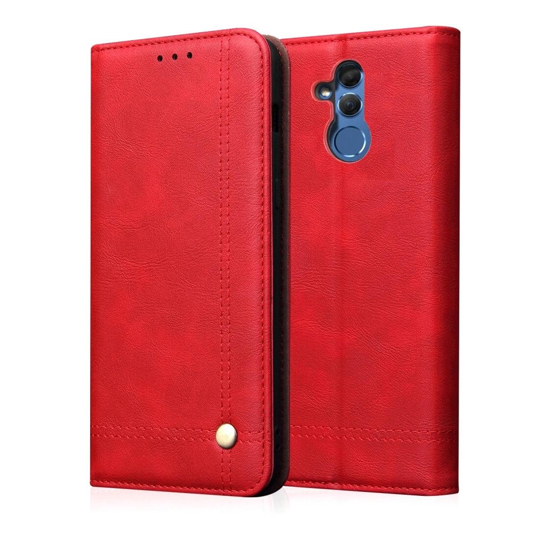 FORCELL PRESTIGE Peňaženkový obal Huawei Mate 20 Lite červený