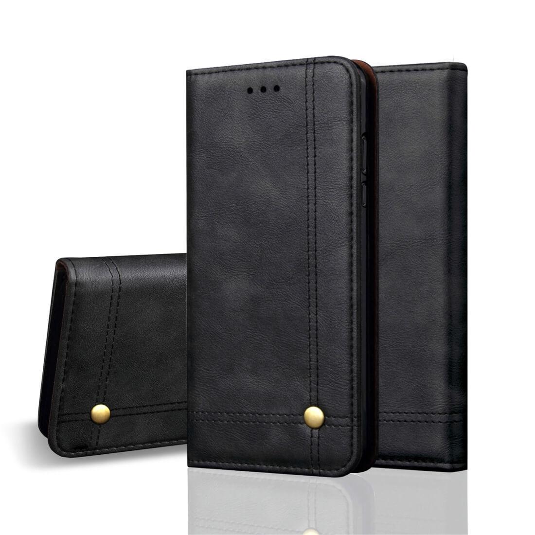 FORCELL PRESTIGE Peňaženkový obal Huawei Nova 3i černý