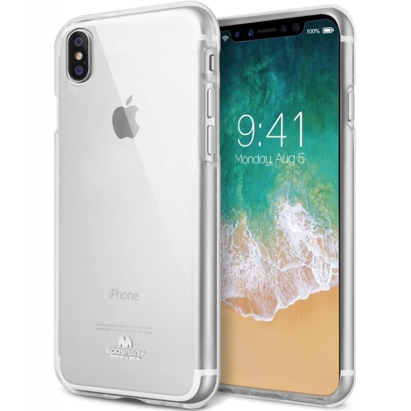MERCURY JELLY obal Apple iPhone X / XS priehľadný