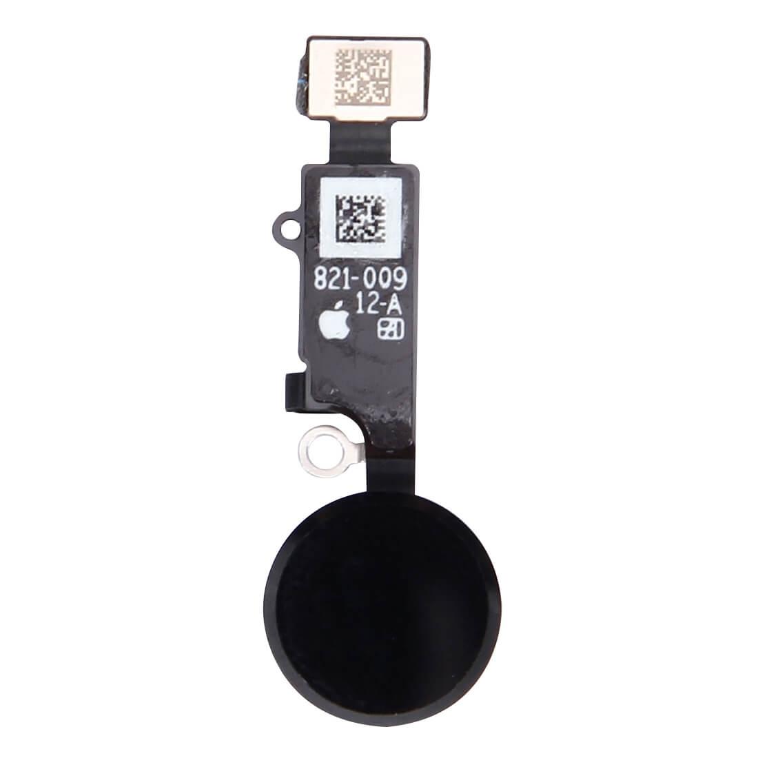 UNBRANDED Apple iPhone 7 Home button + flex kabel komplet - černý