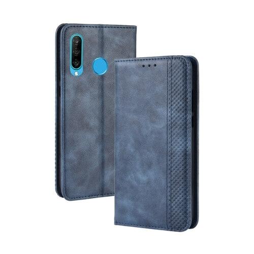 FORCELL BUSINESS Peňaženkový obal Honor 20 Lite modrý