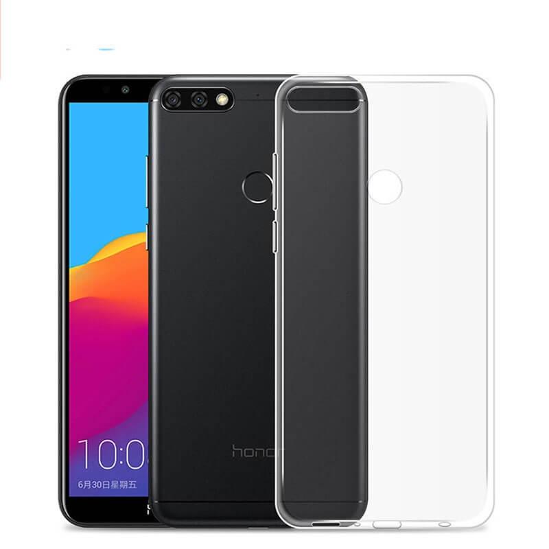 FORCELL Silikonový obal Huawei Y7 Prime 2018 průhledný