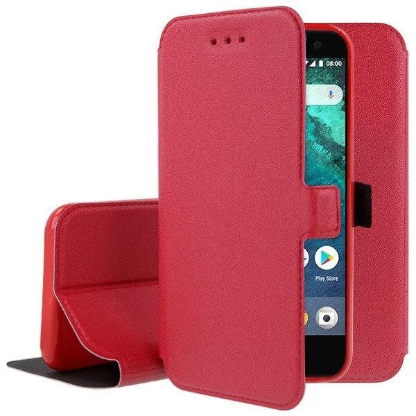 FORCELL SMOOTH Peňaženkový obal HTC U11 Life červený