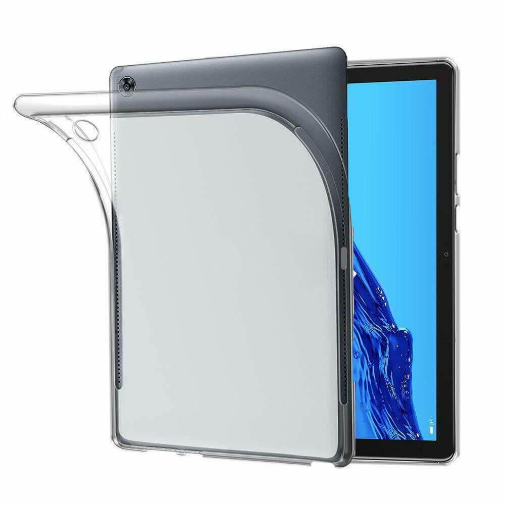 FORCELL Silikónový kryt Huawei MediaPad M5 Lite' priehľadný