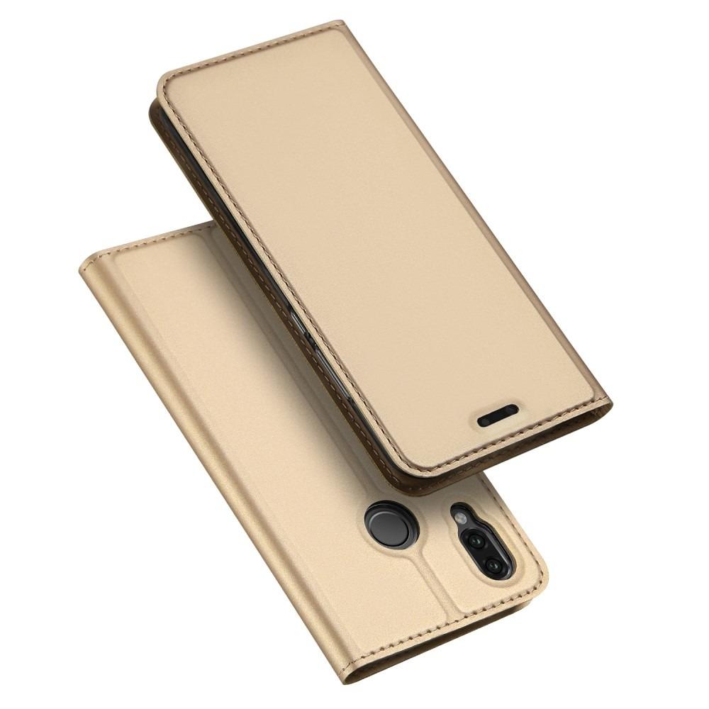DUX Peňaženkové pouzdro Huawei P20 Lite zlaté