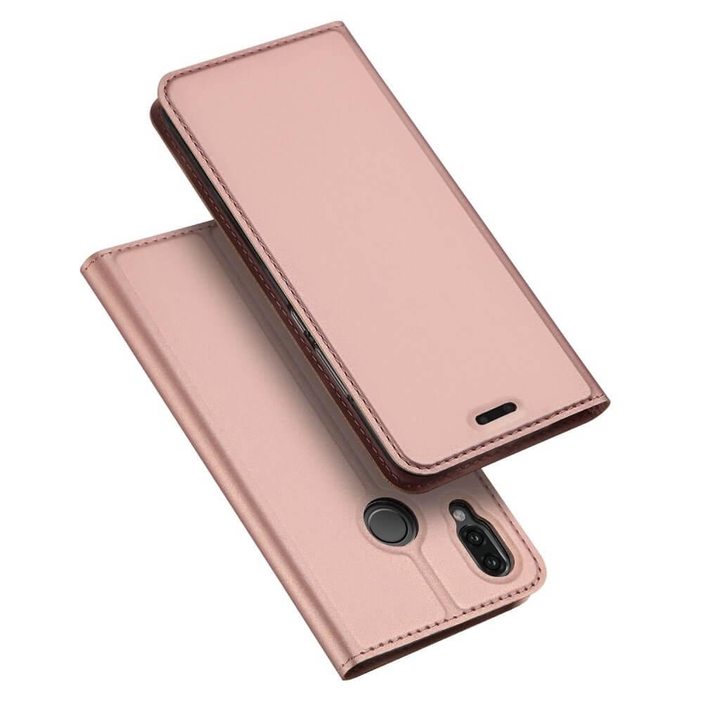 DUX Peňaženkové pouzdro Huawei P20 Lite růžové