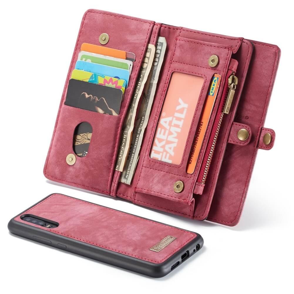 FORCELL WALLET Obal s peňaženkou 2v1 pre Huawei P30 Pro červený