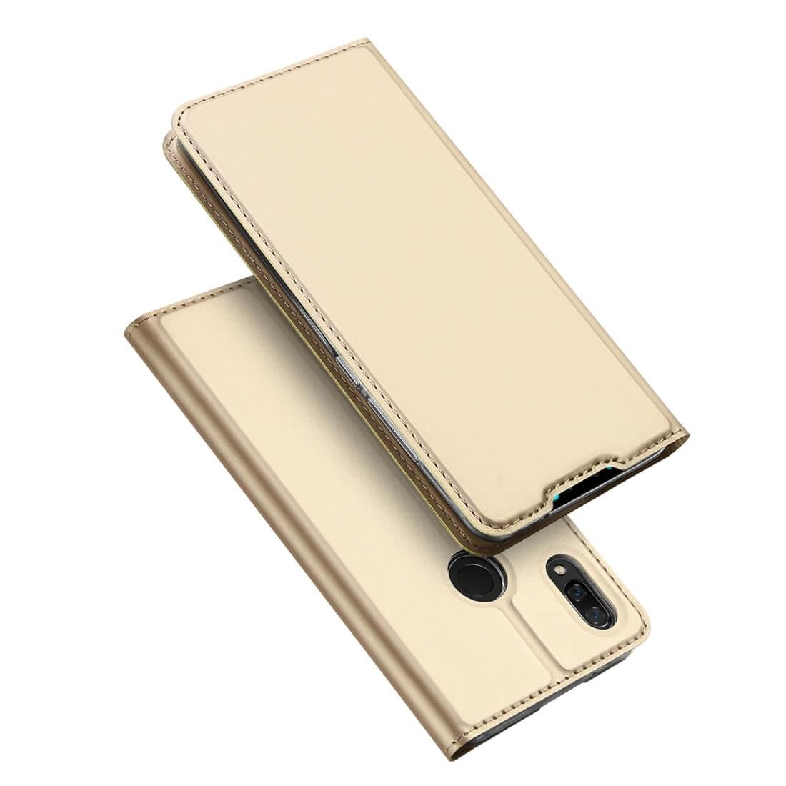 DUX Peňaženkové pouzdro Huawei Y9 2019 zlaté