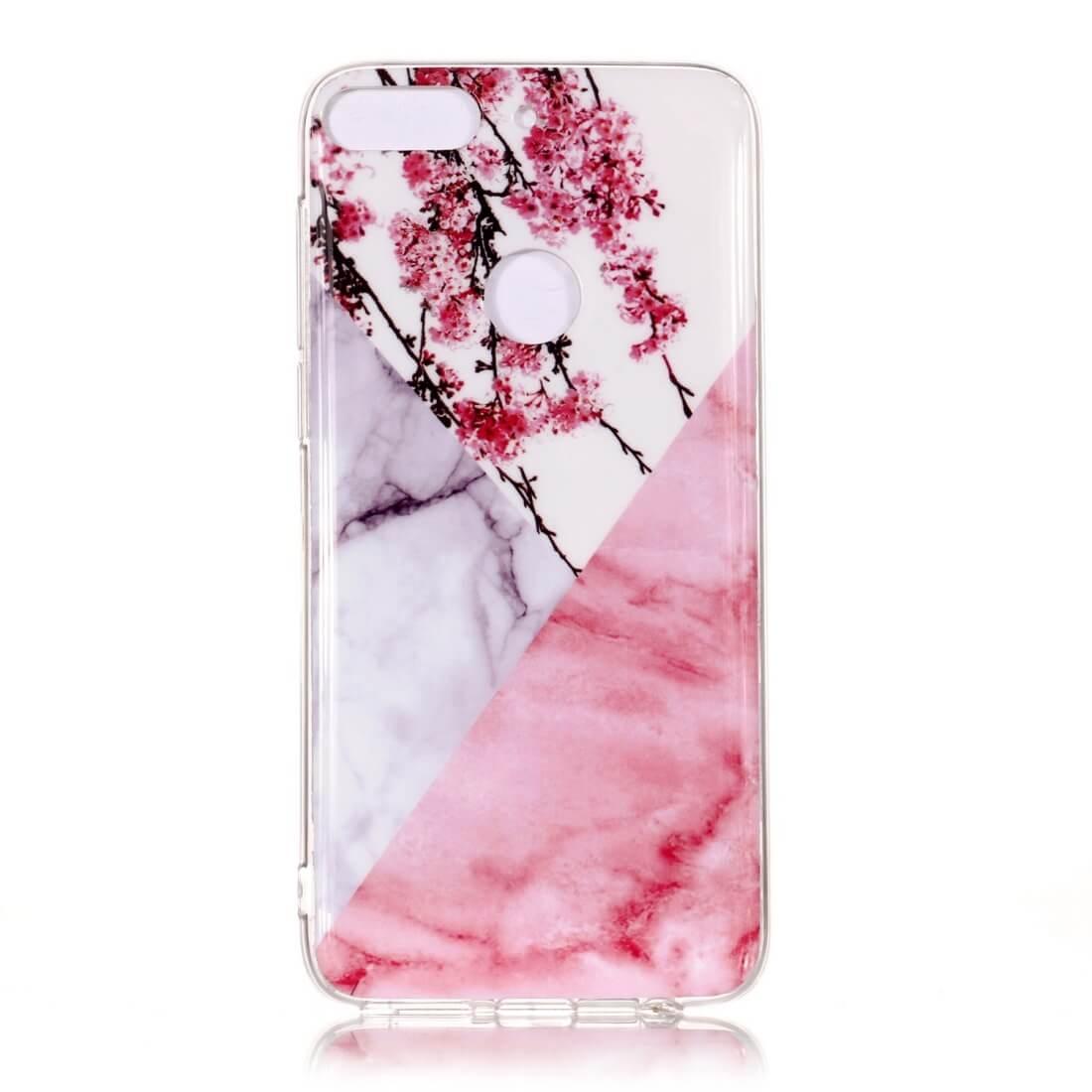 FORCELL MARBLE Ochranný obal HTC Desire 12 Plus růžový