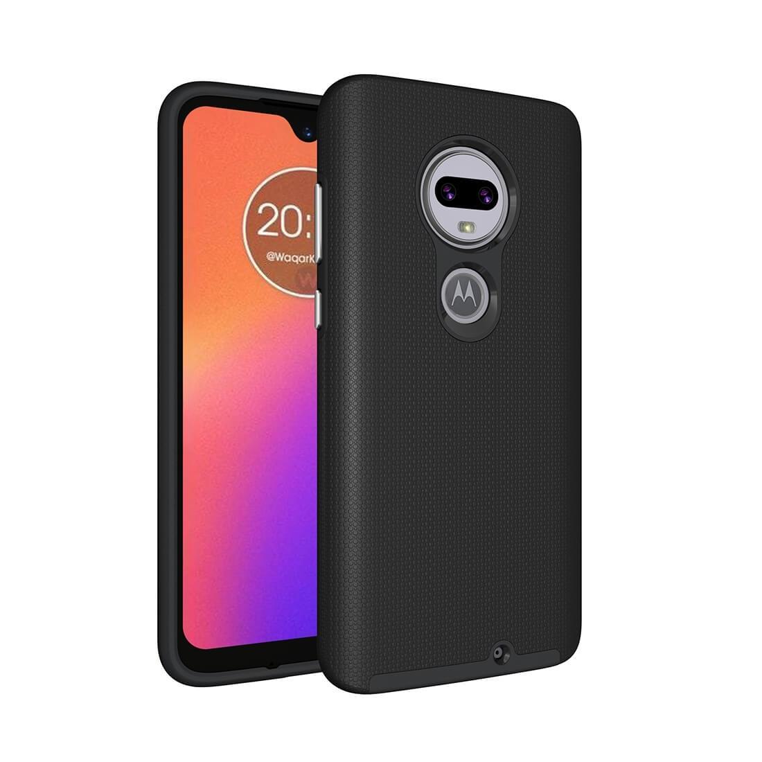 FORCELL HYBRID Ochranný obal Motorola Moto G7 černý