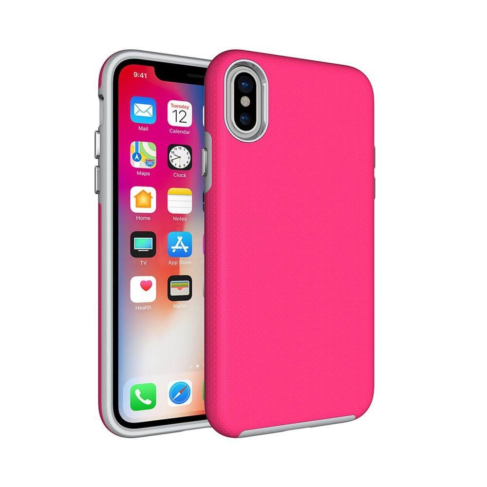 FORCELL HYBRID Ochranný kryt Apple iPhone X   XS ružový 065a49318cf